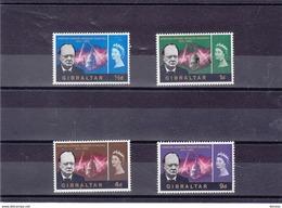 GIBRALTAR 1966 CHURCHILL Yvert 169-172 NEUF** MNH - Gibraltar