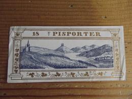 étiquette Pisporter - Etiquettes