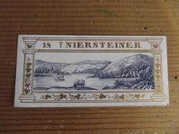 Etiquette 18 Niersteiner - Etiquettes