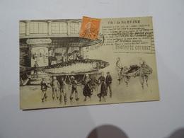 CPA 13  Oh ! La SARDINE  1929 TBE - Pesca