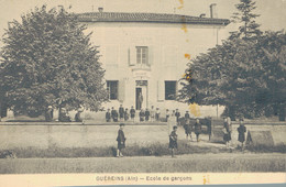 J84 - 01 - GUEREINS - Ain - Ecole De Garçons - France