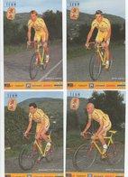 CYCLISME   Tour De France    4 CARTES MERCATONE UNO DONT PANTANI - Cycling