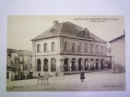 2020 - 4936  CASTELNAU-MAGNOAC  (H-P)  :  L'HÔTEL De VILLE   XXX - Castelnau Magnoac