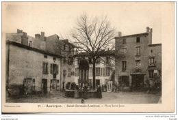 63. Saint Germain Lembron. Place Saint Jean - Saint Germain Lembron
