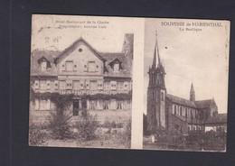Vente Immediate Souvenir De Marienthal (57) Hotel Restaurant De La Cloche - Basilique  (Ed. Mutschele  Ref. 41160) - France