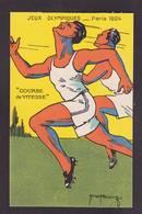 CPA Jeux Olympiques Paris 1924 Non Circulé Publicité Solution Pataubeuge Course à Pied - Juegos Olímpicos