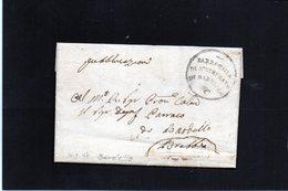 CG31 - Lettera Da Bardello Per Brebbia 10/1/1846 - Parrocchia S. Srefano Di Bardello - Marcophilia