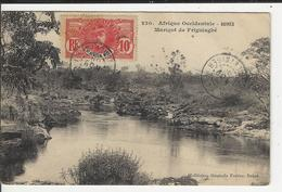 Afrique Occidentale Guinee Marigot De Friguiabé Timbre Afrique Occidentale  Française - Guinée Française
