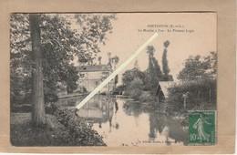 Dept 28 : ( Eure Et Loir ) Pontgouin, Le Moulin à Tan, Le Plaisant Logis. - France