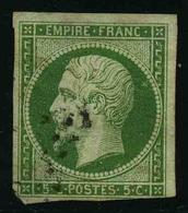 FRANCE - YT 12 - SECOND EMPIRE NAPOLEON III - TIMBRE OBLITERE - 1853-1860 Napoleone III
