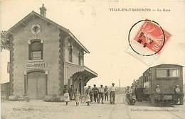 51 VILLE EN TARDENOIS - LA GARE - France