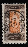 DAHOMEY YT 96 Oblitéré COTONOU 23 Mai 1936 - Usados