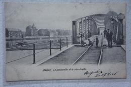 CPA NAMUR La Passerelle Et La Rive Droite Avant 1914 - Namur