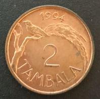MALAWI - 2 TAMBALA 1994 - KM 8.2a - Malawi