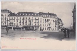 BASEL BÂLE - Centralbahnplatz Hôtel National Tramway - BS Basle-Town