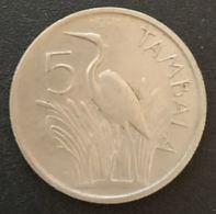 MALAWI - 5 TAMBALA 1971 - KM 9.1 - Malawi