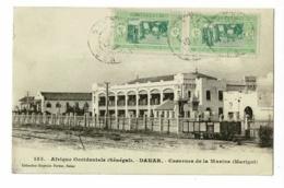 Sénégal - Dakar - Casernes De La Marine (Marigot) Wagon/remorque Sur Rails - Circulé Date Illisible - Sénégal
