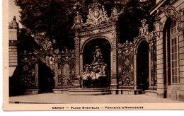 CPA NANCY - PLACE STANISLAS - FONTAINE D'AMPHITRITE - Nancy