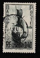 DAHOMEY YT 134 Oblitéré 7 Juillet 1938 - Oblitérés
