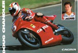 MOTOCICLISMO - MOTO - CAGIVA 500 GP  - DOUG CHANDLER - N 022 - Motociclismo