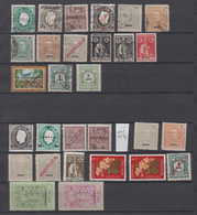 Portugal MACAU 29 Stamps (*) + Used - Autres