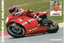 MOTOCICLISMO - MOTO - CAGIVA 500 GP  - MATTHEW MLADIN - N 023 - Motociclismo