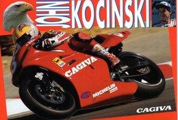 MOTOCICLISMO - MOTO - CAGIVA 500 GP  - JOHN KOCINSKI - N 024 - Motociclismo