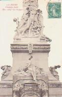 """Marne        661        Reims.Fontaine Subé.Bas Relief """" La Suippe """" - Reims"""