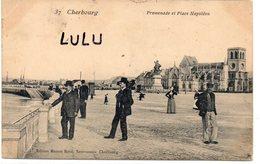 DEPT 50 : édit. Maison Ratti Nouveautés N° 37 : Cherbourg Et Place Napoléon - Cherbourg