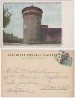 Milano - Torrione Di Castello Sforzesco, 1900 (inviata A Fatima Miris) - Milano (Milan)