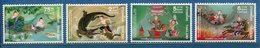 Thaïlande - YT N° 825 à 828 - Neuf Sans Charnière - 1977 - Thaïlande