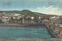 MUELLE DE LAS PALMAS Y PARQUE DE SAN TELMO DESDE EL MAR - Gran Canaria
