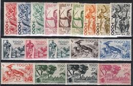 TOGO, 236 à 253 ** - Togo (1914-1960)