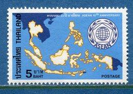 Thaïlande - YT N° 831 - Neuf Sans Charnière - 1977 - Thaïlande