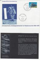 Switzerland, Apollo 12 Moon Landing Illustrated Letter Cover B200405 - Europe