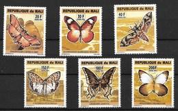 MALI 1994 BUTTERFLIES  MNH - Schmetterlinge