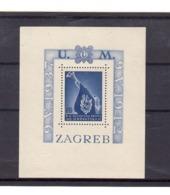 Croatie. BF N°3. Bloc Dentelé Sans Charnière. Gomme. En Souvenir Des Patriotes Croates: 1937 1942. Zagreb. - Kroatien
