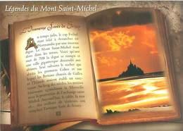 Cpsm -     Légende Du Mont Saint Michel  , L 'immense Forêt De Scissy  ,   Livre                  AX1116 - Fiabe, Racconti Popolari & Leggende