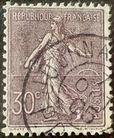 P226 - TYPE SEMEUSE FOND LIGNE - N°133a - CàD Du 7 Octobre 1905 PP JOURNAUX - Cote (2020) : 25,00 € - France