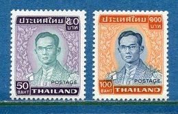 Thaïlande - YT N° 843 Et 844 - Neuf Sans Charnière - 1977 - Thailand