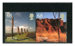 GRAN BRETAGNA - GREAT BRITAIN - WORLD HERITAGE ENGLAND HEART OF NEOLITHIC ORKNEY  Prehistoric Monuments - Archéologie