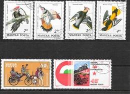 Lot En Vrac De 100 Timbres De Hongrie, Magyar Posta - Toutes époques - Timbres