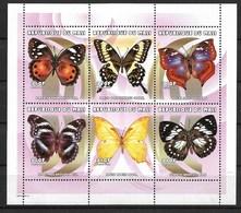 MALI 2000 BUTTERFLIES  MNH - Schmetterlinge