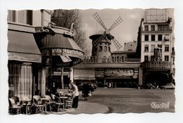 - CPSM PARIS (75) - Le Moulin Rouge - Editions CHANTAL N° 71 - - Cafés, Hôtels, Restaurants