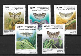 MAURITANIA 1989 BUTTERFLIES  MNH - Schmetterlinge