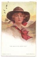 FF 328 OLD ( 1921)  FANTASY POSTCARD , FINE ART , PAINTINGS , FEMALE FIGURATIVE , Signed BOILEAU - Arts
