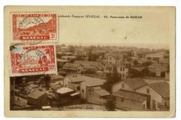 Sénégal - Panorama De Dakar - Circulé, Date Illisible - Sénégal