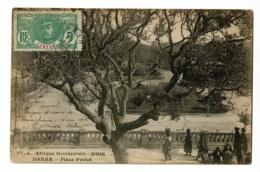 Sénégal - Dakar - Place Prodet (animation) Circulé 1915 - Sénégal