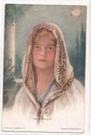 FF 338 OLD ( 1921)   FANTASY POSTCARD , FINE ART  , PAINTINGS ,  FEMALE FIGURATIVE , Signed Ph. BOILEAU - Arts