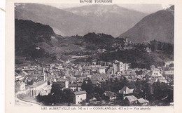 1682  ALBERTVILLE  D73 CONFLANS  VUE GENERALE - Albertville
